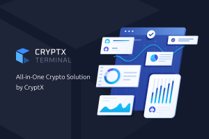 CryptX Terminal Goes Live 101
