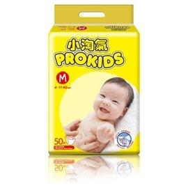 全新~未拆封~未剪標~可刷卡 單包 Prokids小淘氣透氣乾爽嬰兒紙尿褲尿布 M L XL(活潑寶寶 幫寶適 噓噓樂可參考 ...