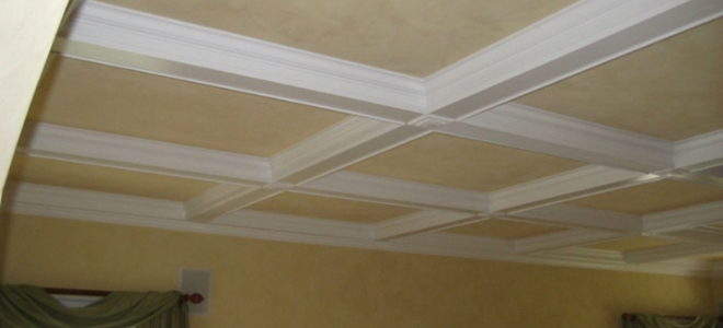 How To Construct Coffered Ceilings
