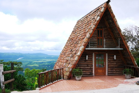 How To Make A Log Cabin