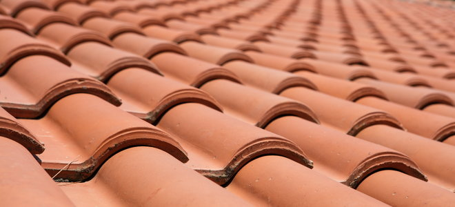 installing a clay tile roof