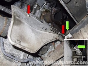 Mercedes Benz W211 E Class How to Replace Starter  Mbworld