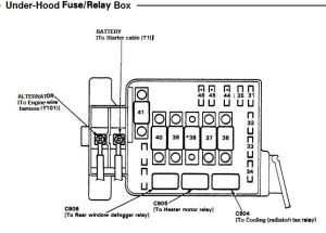 Fuel pumpmain relay problem  HondaTech  Honda Forum