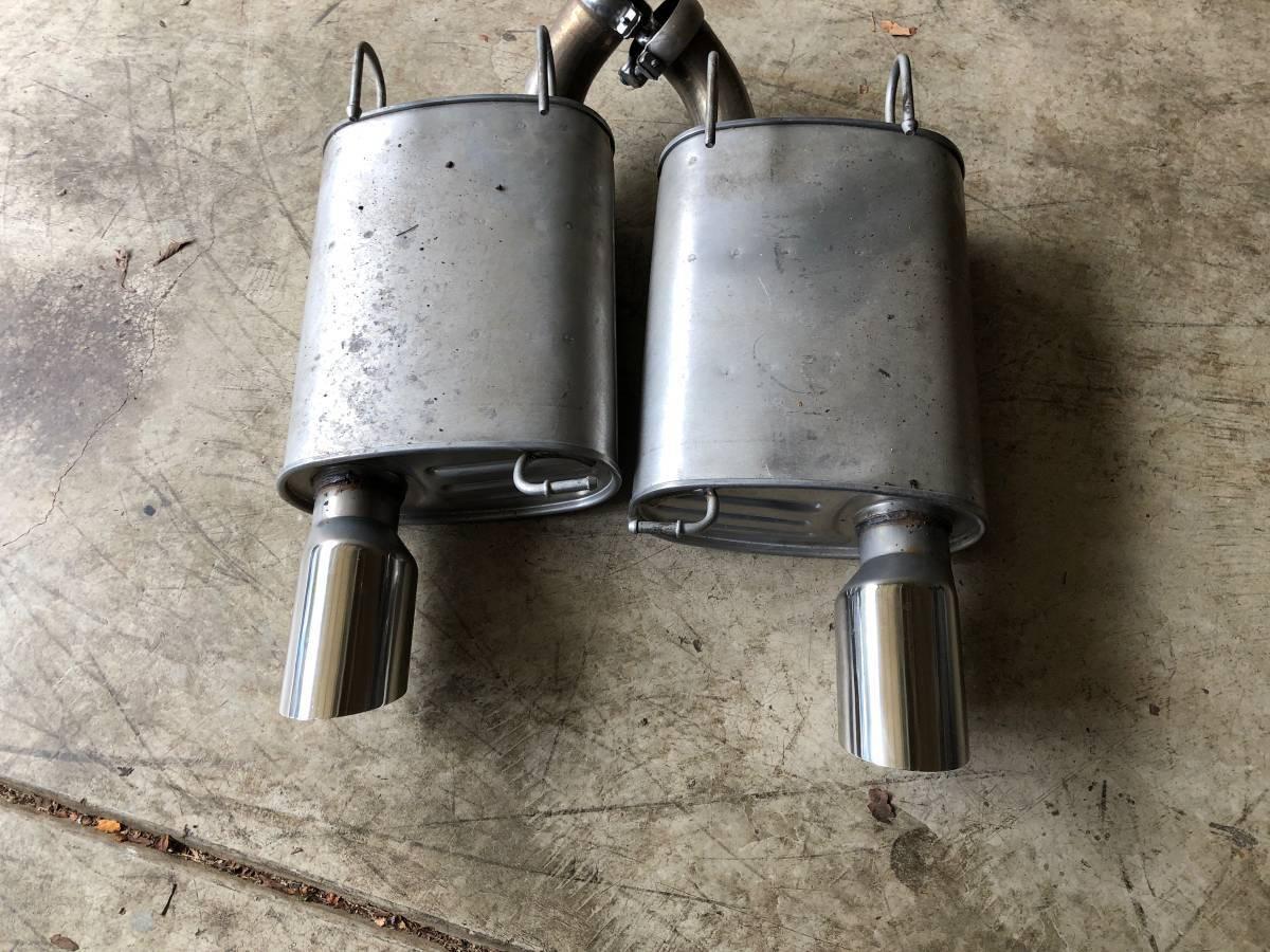 shelby gt500 axle back mufflers