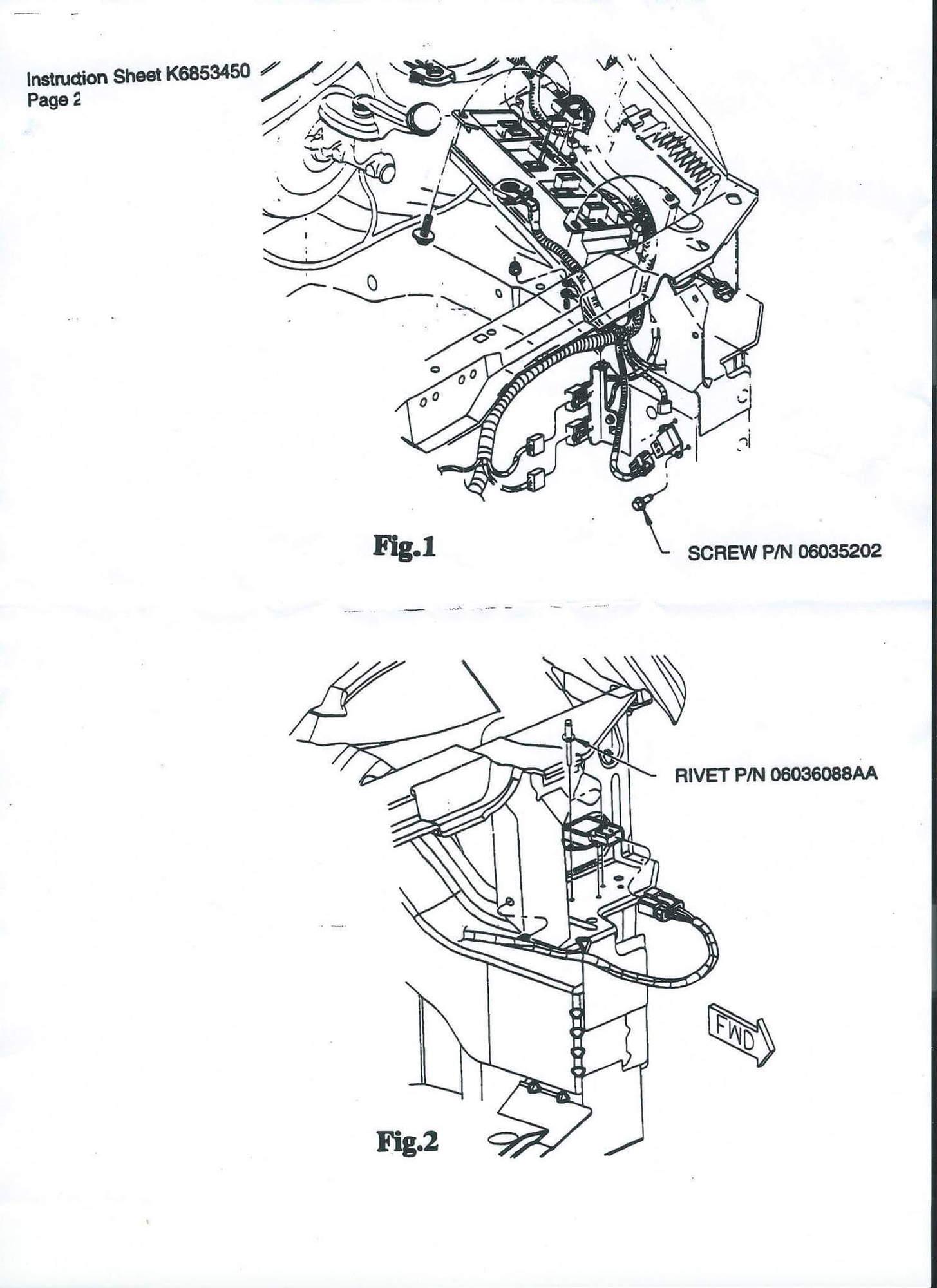 Radiator Fan Control Relay