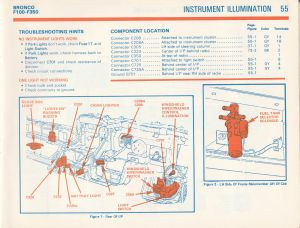 1981 F100 gauge cluster wiring diagram ?  Ford Truck