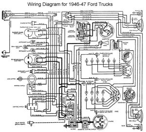 Wiring diagram 1946  Ford Truck Enthusiasts Forums