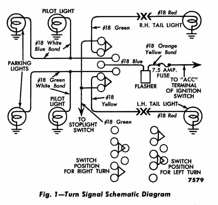 early gm turn signal wiring diagram wiring diagrams headlight and tail light wiring schematic diagram typical 1973 sdway turn signal