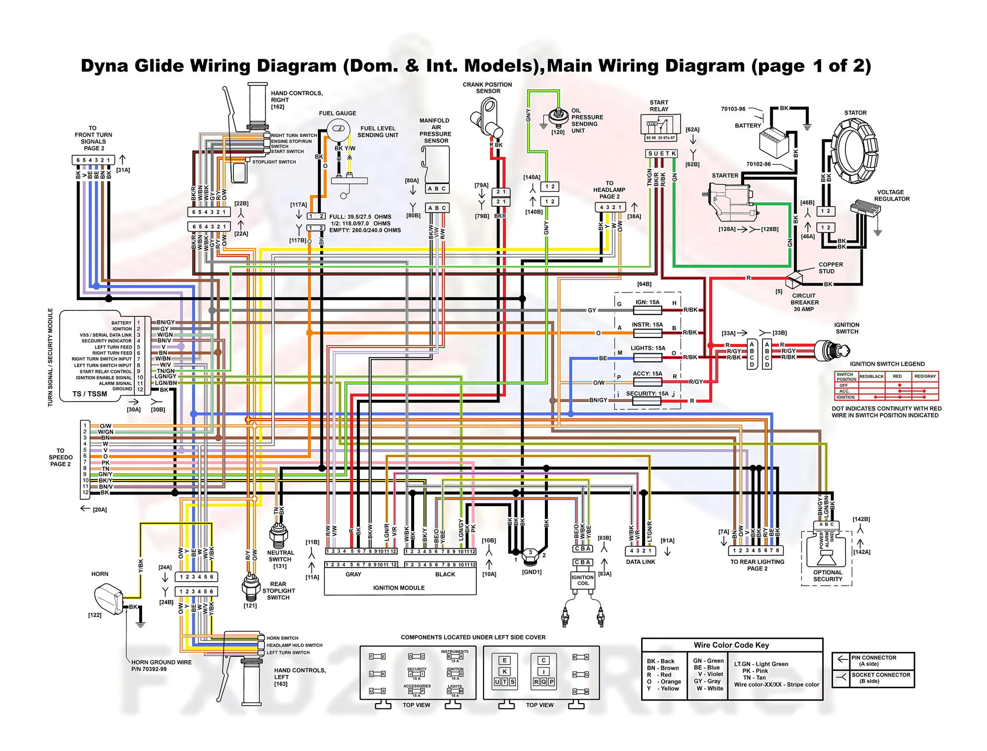 2008 Harley Rocker Wiring Diagram - Wiring Diagrams on