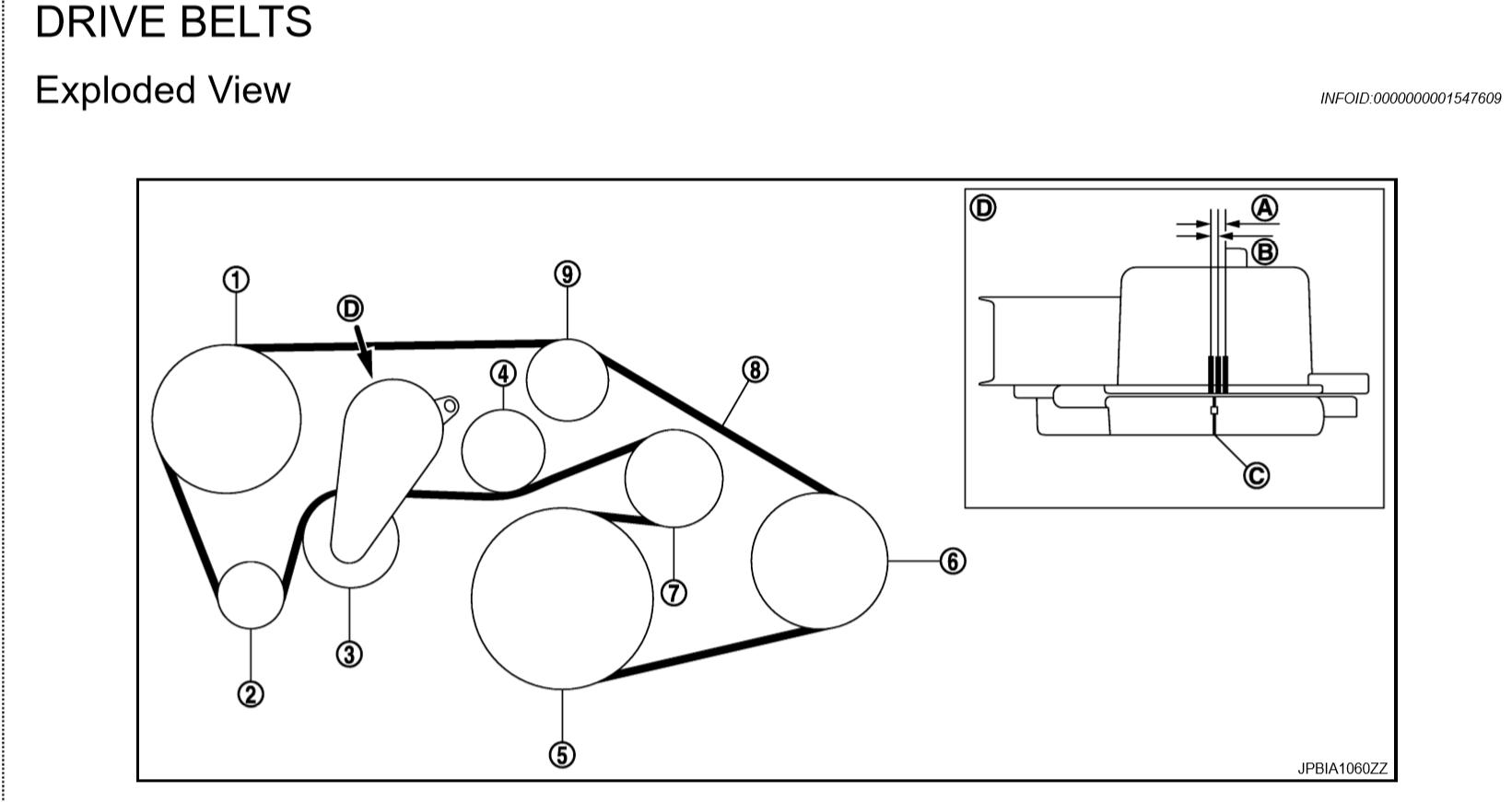 Diy Serpentine Belt Change On An 09 G37