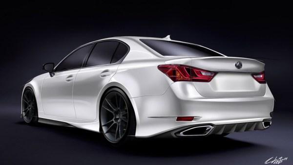 Five Axis Preps Custom 2013 Lexus GS 350 F Sport For SEMA
