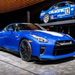 Nissan Rolls Out 50th Anniversary Gt R With Bayside Blue Paint