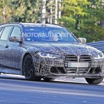 2022 Bmw M3 Touring Spy Shots Speedy Wagon Coming But Not To Us