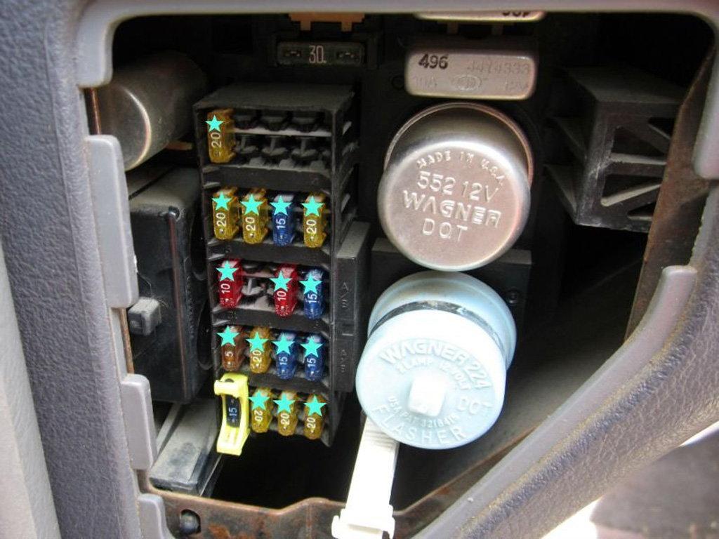 Panel Dakota 2004 Diagram Fuse Dodge