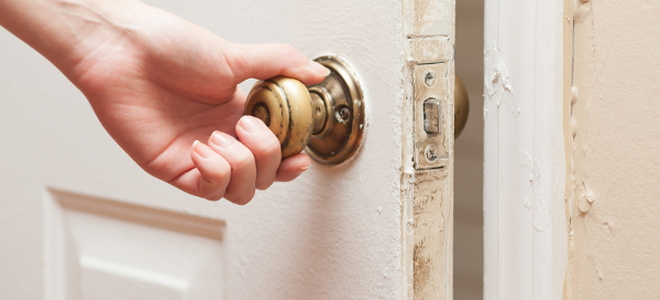 unlocking a bedroom door in an emergency | doityourself