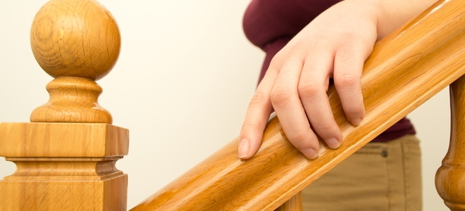 How To Restain A Wood Banister Doityourself Com | Cost To Restain Stair Railing | Spindles | Refinishing Hardwood Stairs | Baluster | Sanding | Paint