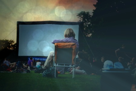 Make Your Own Outdoor Movie Theater