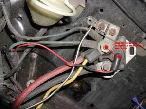 fox body guys! ignition solenoid? other wiring connections