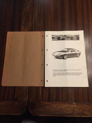 FS  1980 Porsche 928 Service Information manual  Rennlist  Porsche Discussion Forums