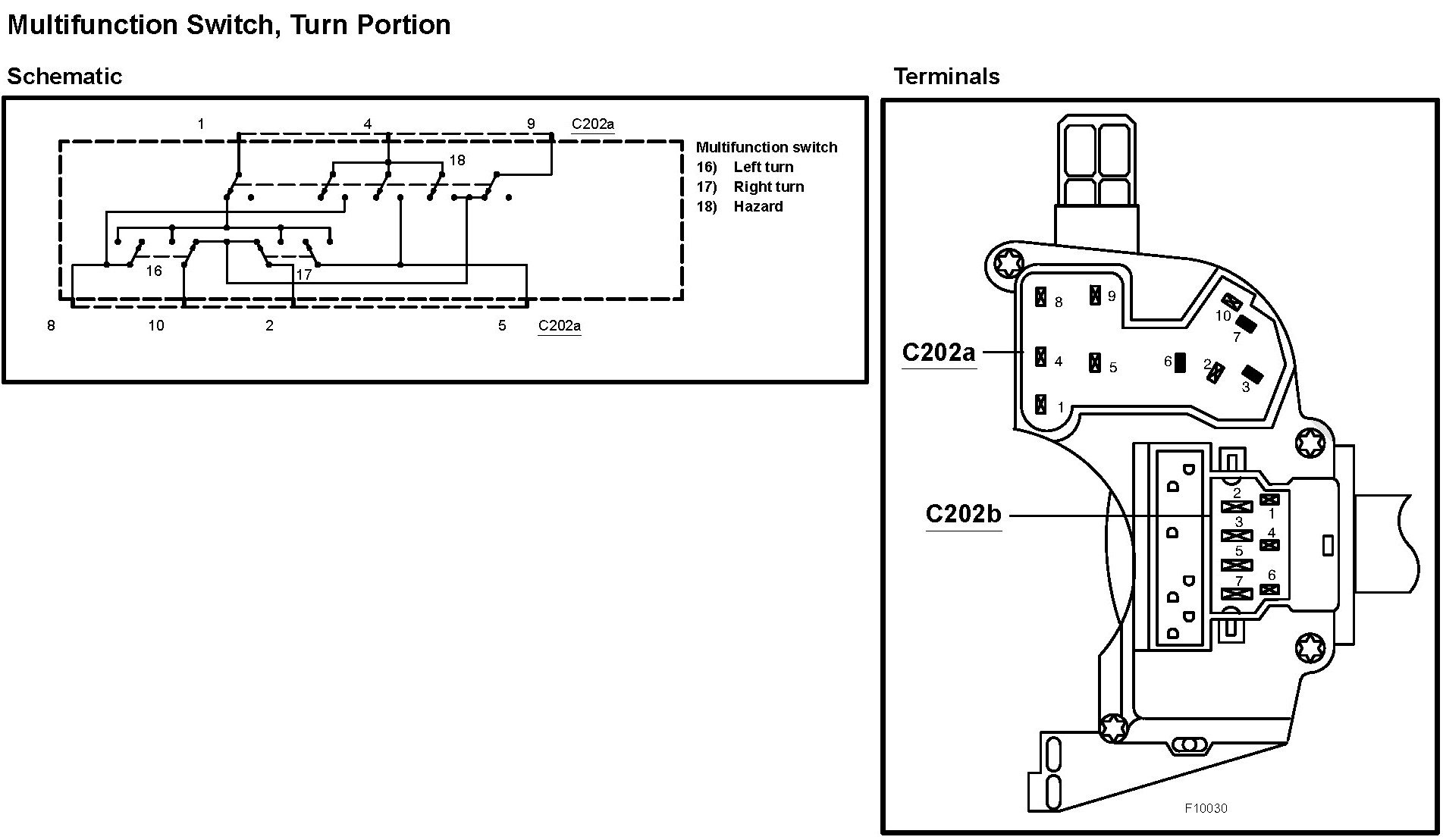Multifunction Switch Wiring Diagram