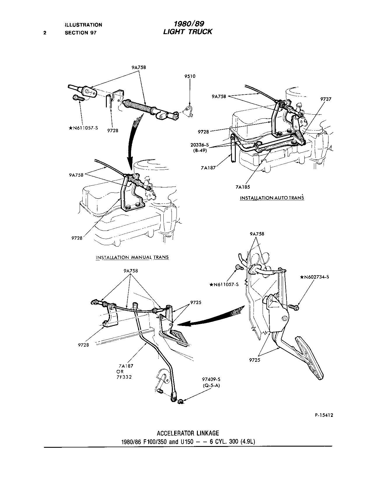 No Shift Arm Assembly C6 Trans