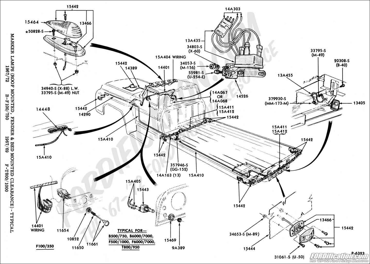 F150 Bed Diagram