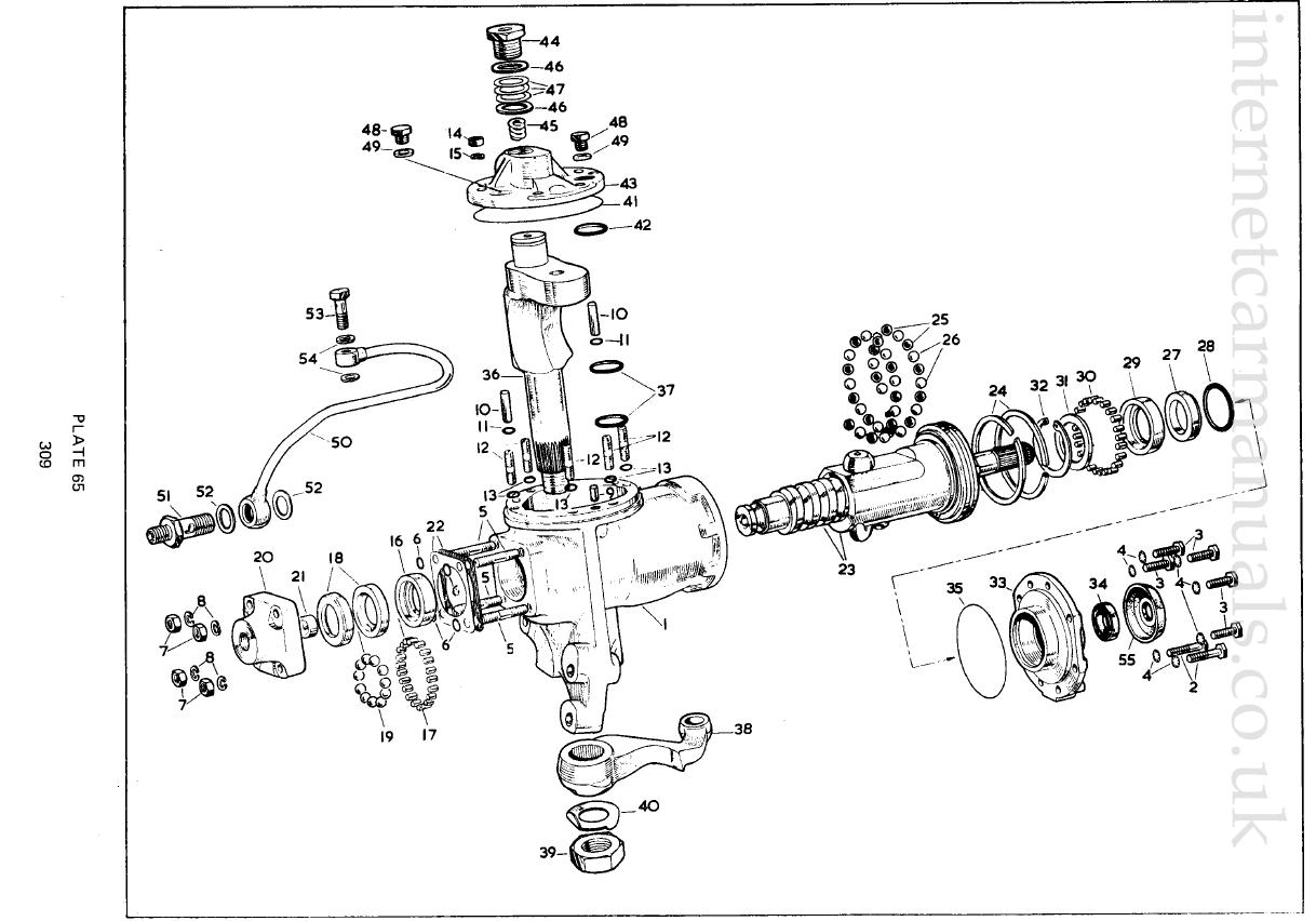 Rebuilding Burman Pa Steering Box