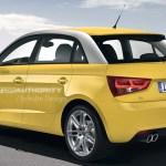 Rendered 2012 Audi A1 Sportback