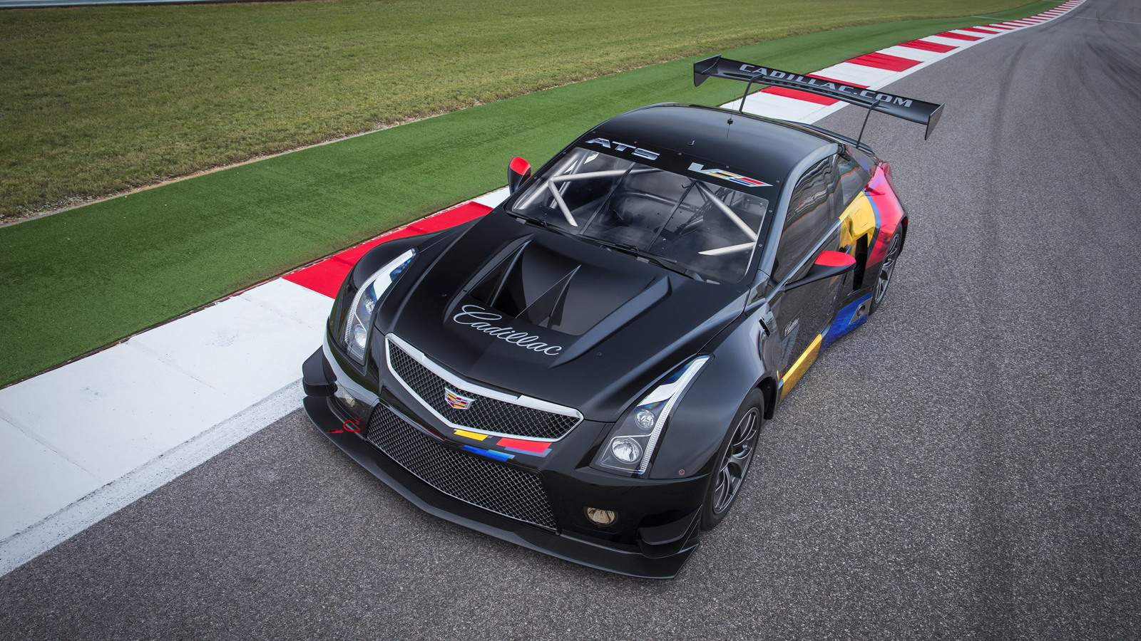 2016 cadillac ats v coupe spawns gt3