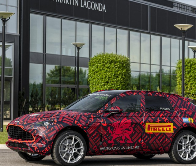 Pre Production Aston Martin Dbx