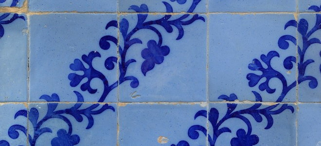 how to remove wax from ceramic tile