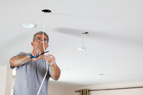 Recessed Lighting Wiring Instructions Doityourself Com