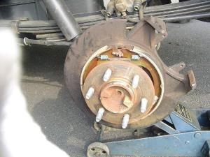 Ford F150 F250 Replace Emergency Brake How to  FordTrucks