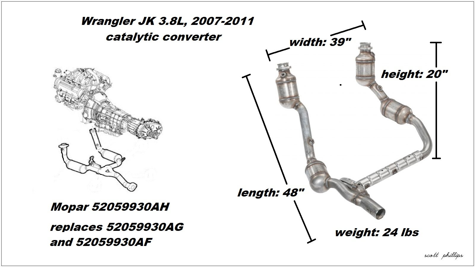 Jeep Wrangler Jk To Present How To Replace Catalytic