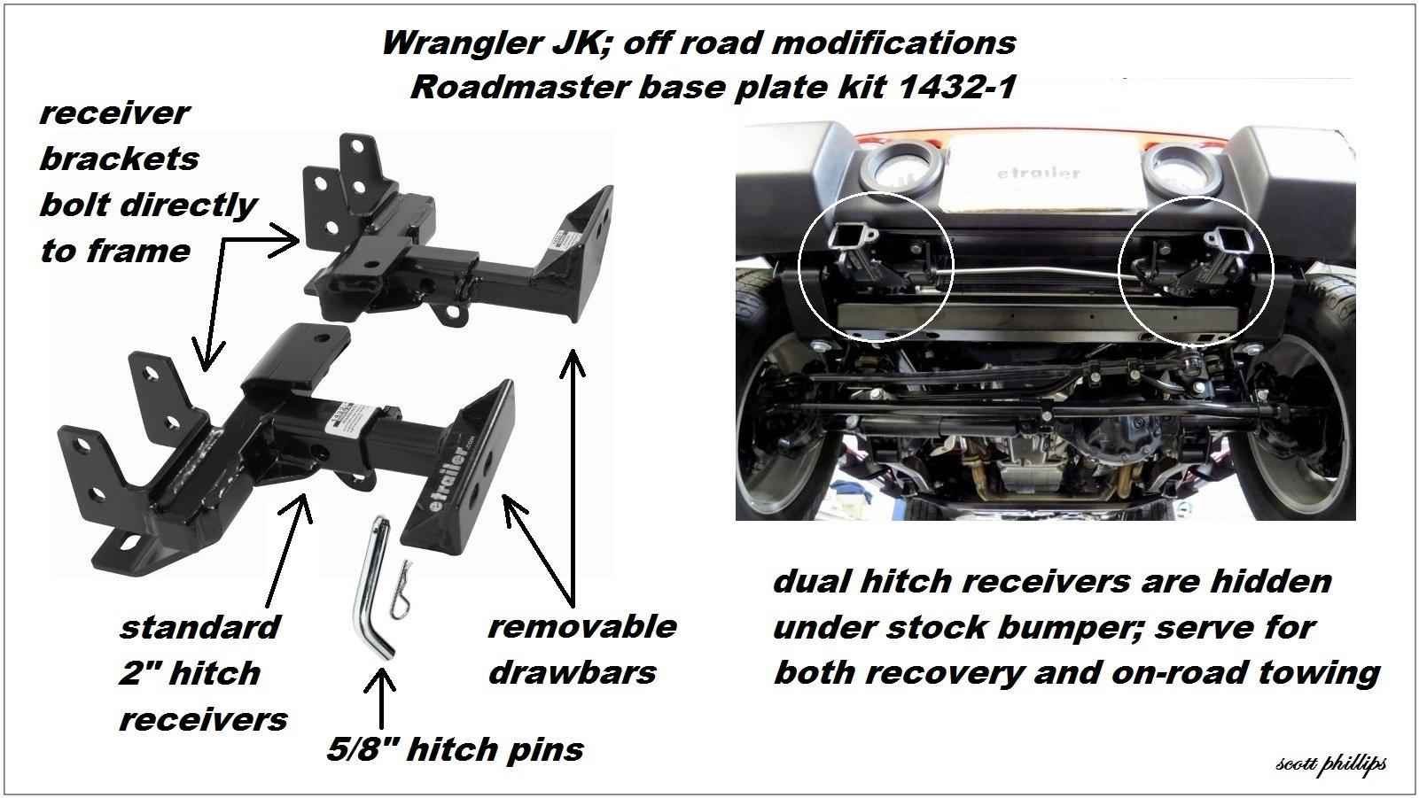 Jeep Wrangler Jk To Present Off Road Modifications