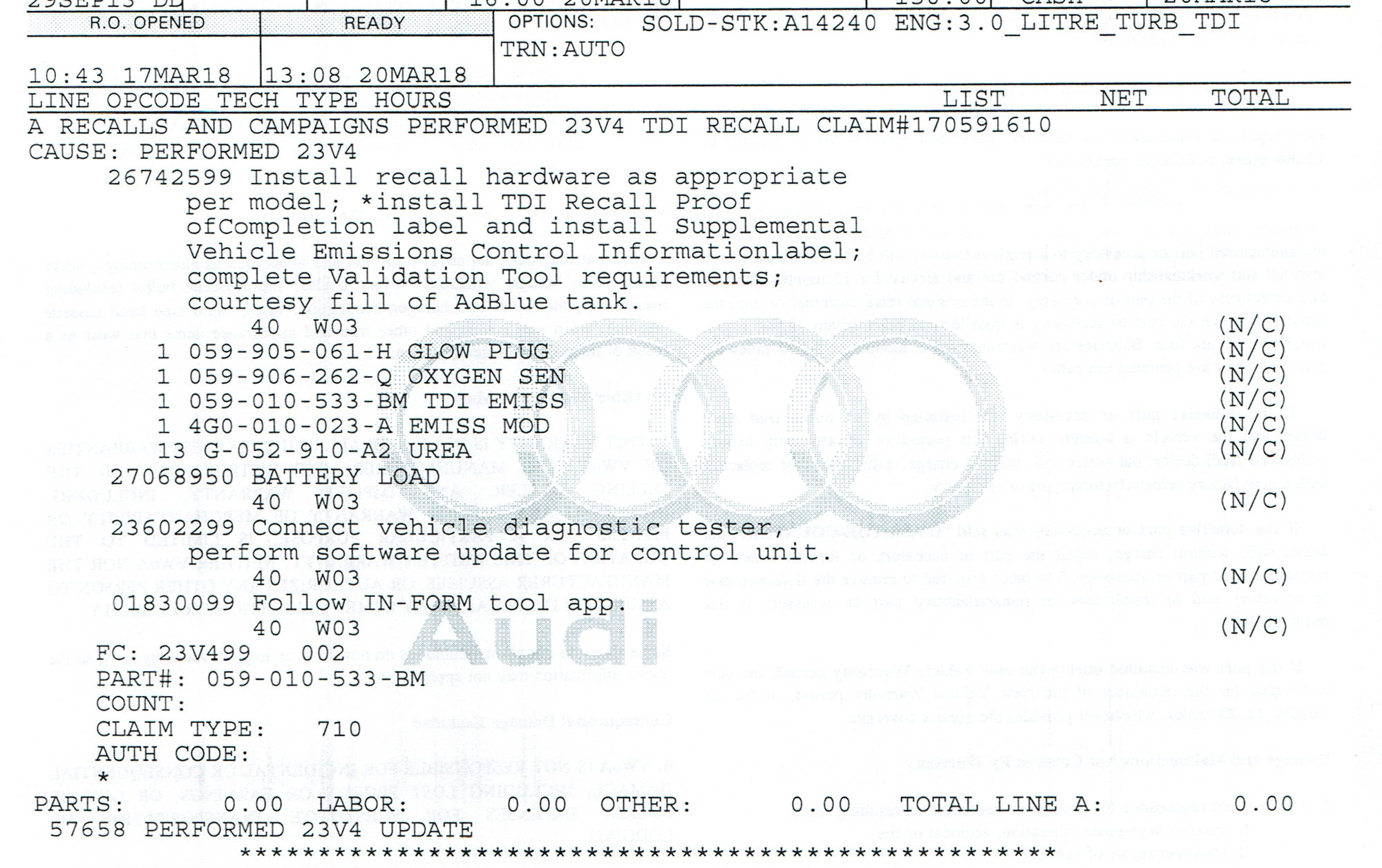 Audi Q5 Nox Sensor Location