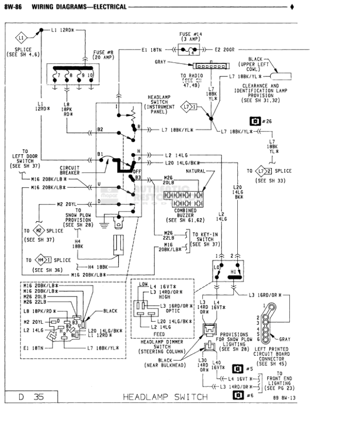 1990 dodge truck wiring harness  auto wiring diagrams rub