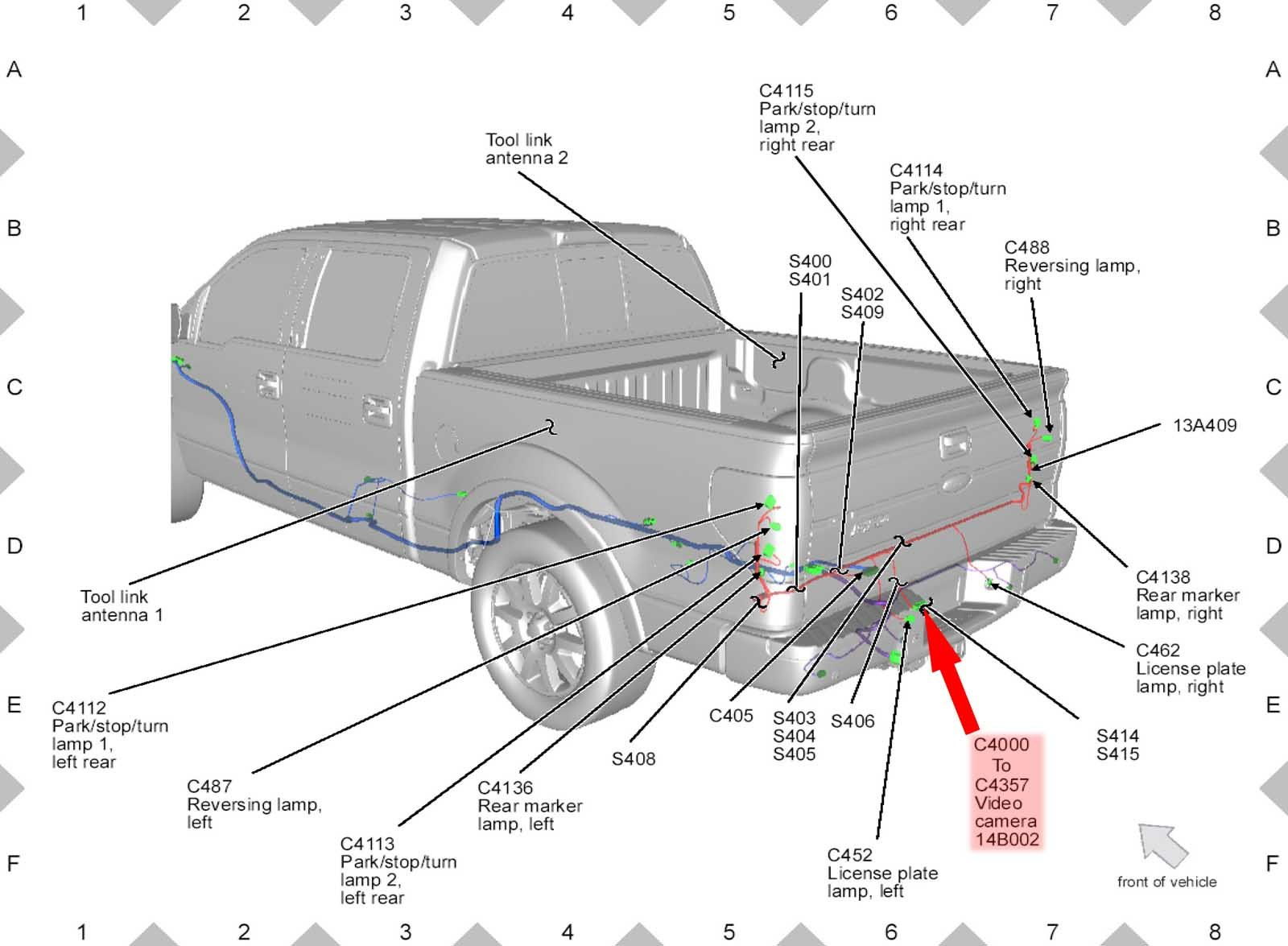 2009 Toyota Tundra Backup Camera Wire Diagram