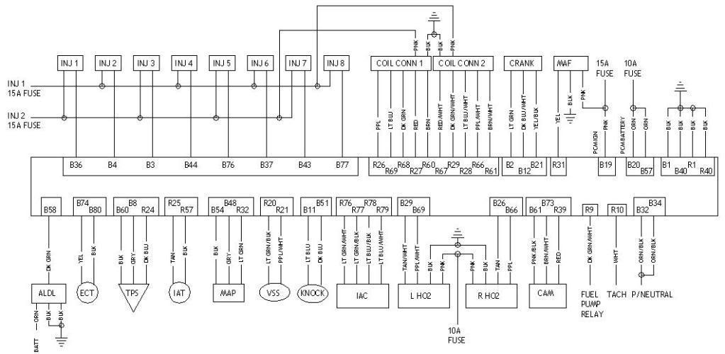 Ls1 Plug 105 Harness Conversion C Wiring
