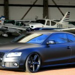 Avus Performance Gives Audi A5 A Menacing Matte Black Finish