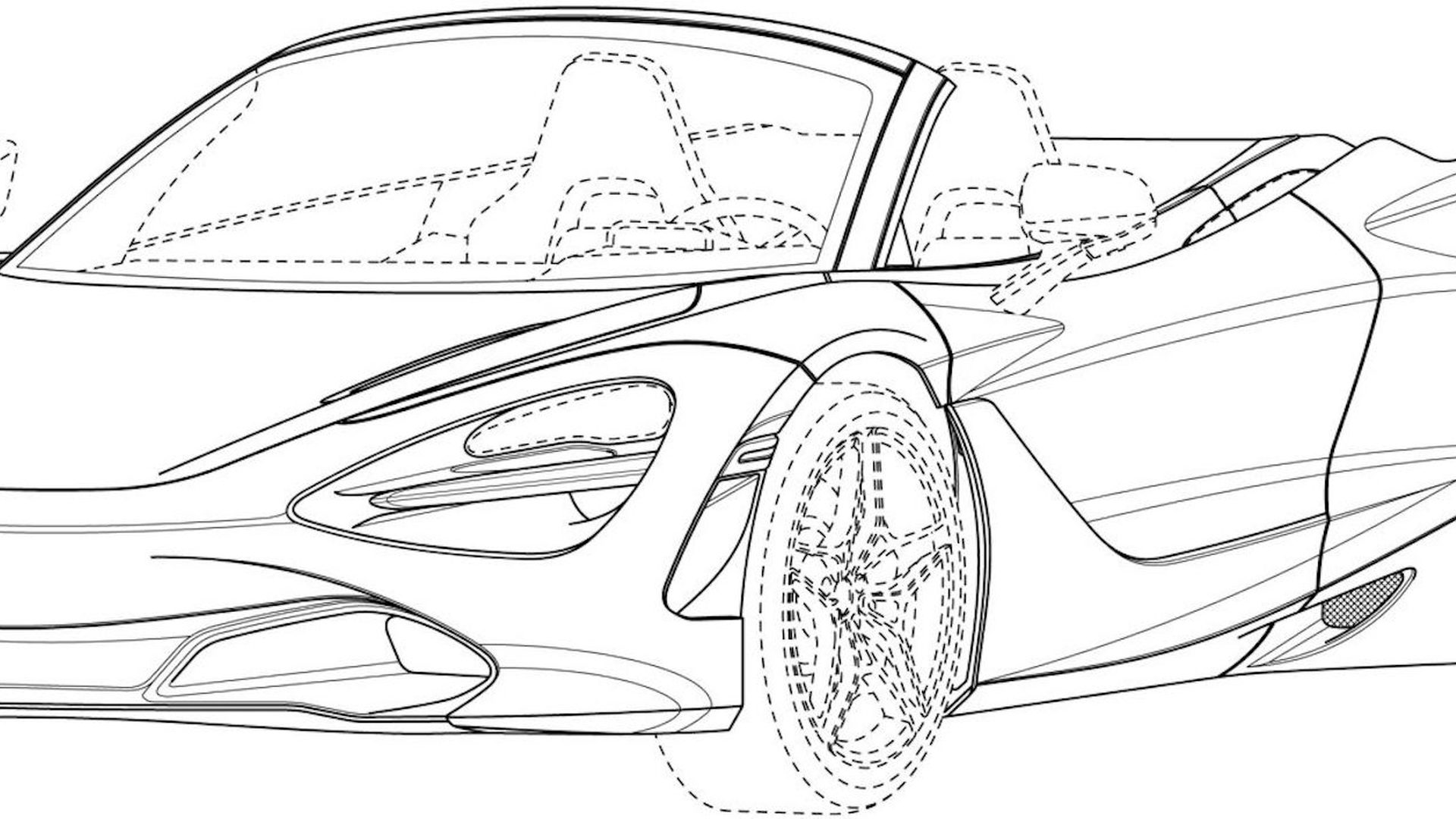 Coloring Pages Coloring Car Mclaren