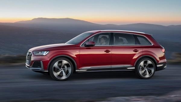 2020 Audi Q7's dash goes digital in latest update