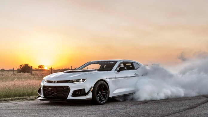The 1 200 Hp 200 000 Hennessey Resurrection Chevy Camaro Zl1 1le Worships At The Church Of Speed