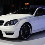 2012 Mercedes Benz C63 Amg Coupe 2011 New York Auto Show Live Photos