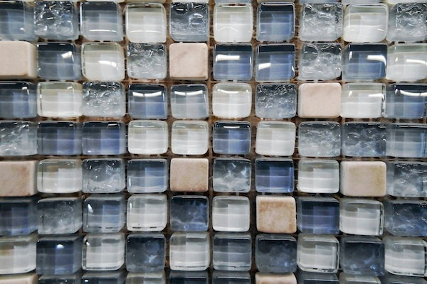 install glass tile on a countertop