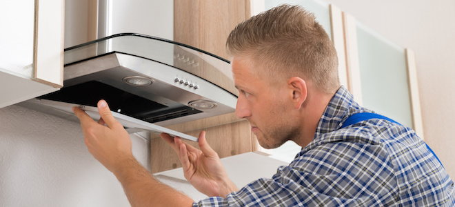 how to fit a kitchen extractor fan