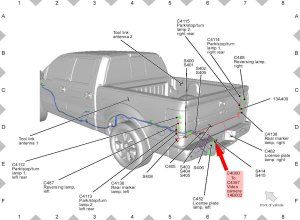 Ford F150 F250 Install Rearview Backup Camera How to