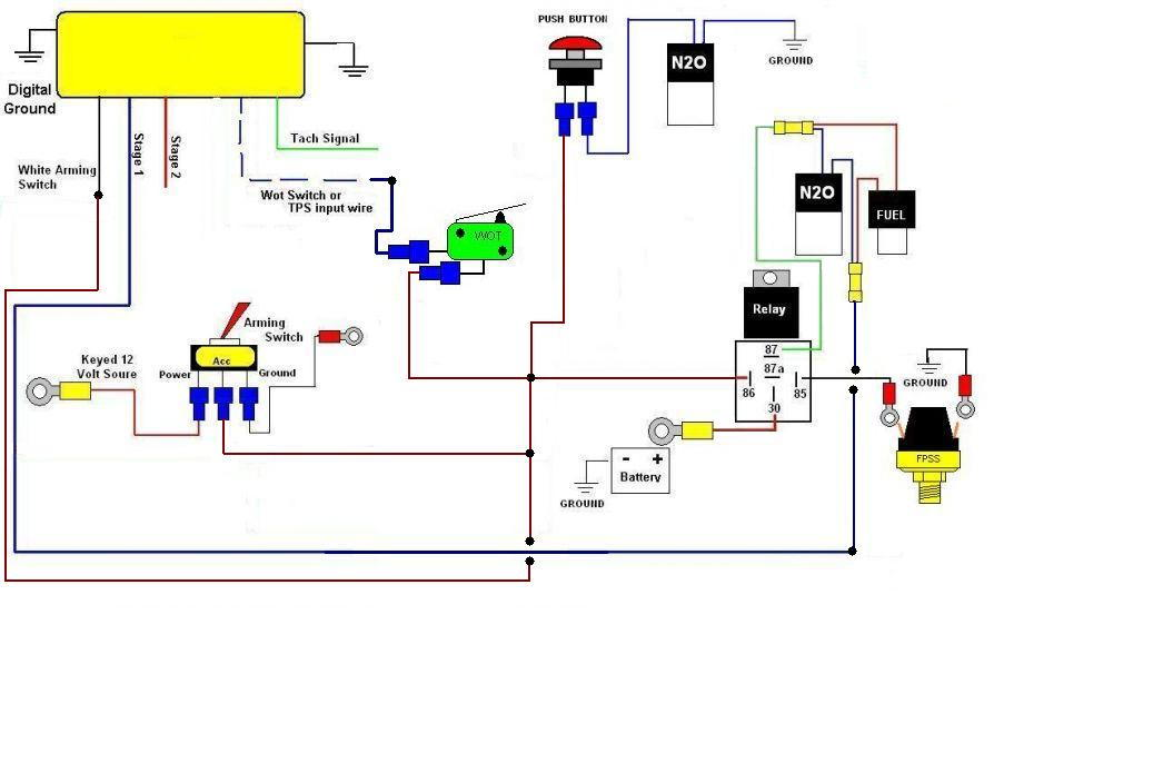 Unusual Nitrous Wiring Diagram Images - Electrical and Wiring ...
