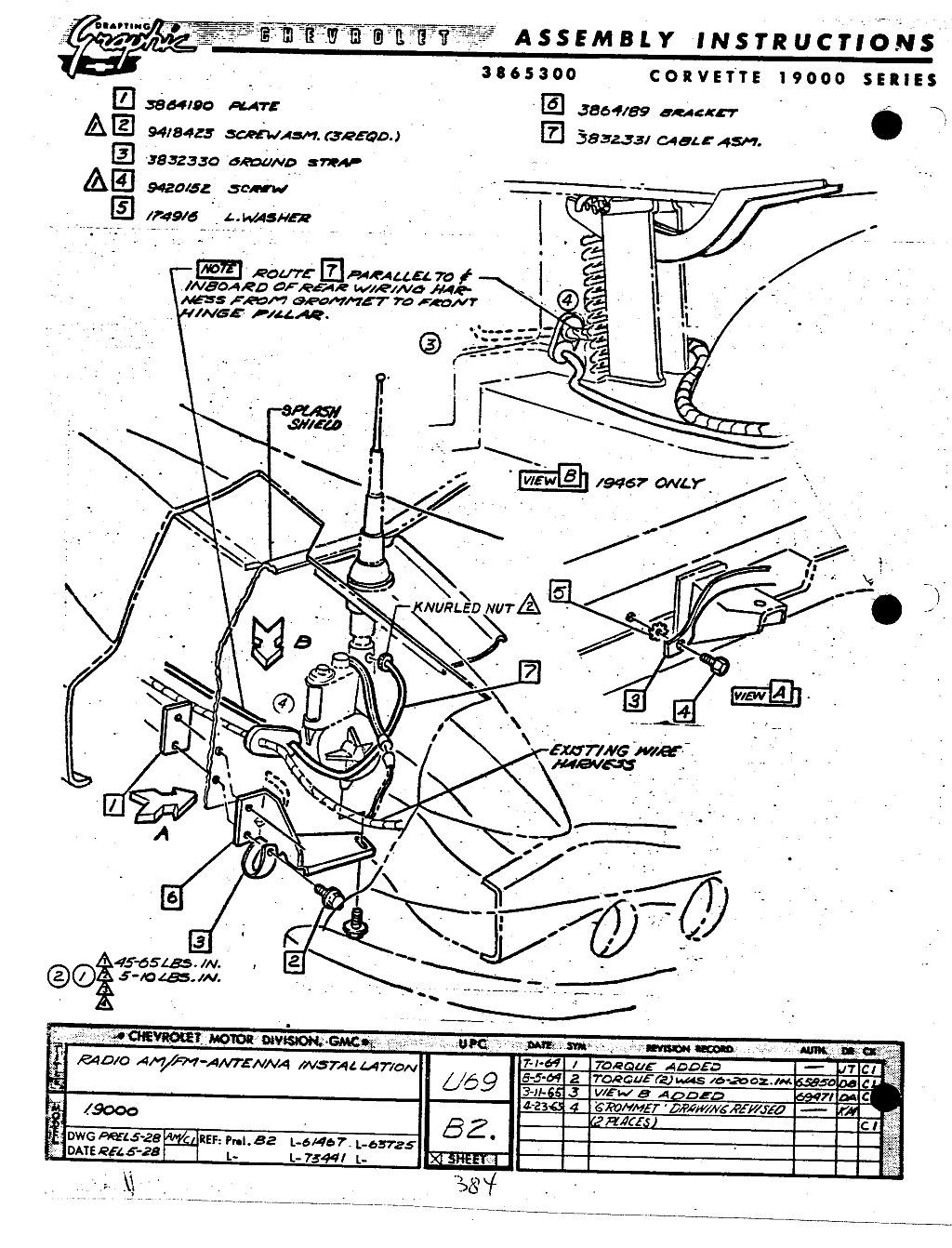 C1 Corvette Wiring Diagram