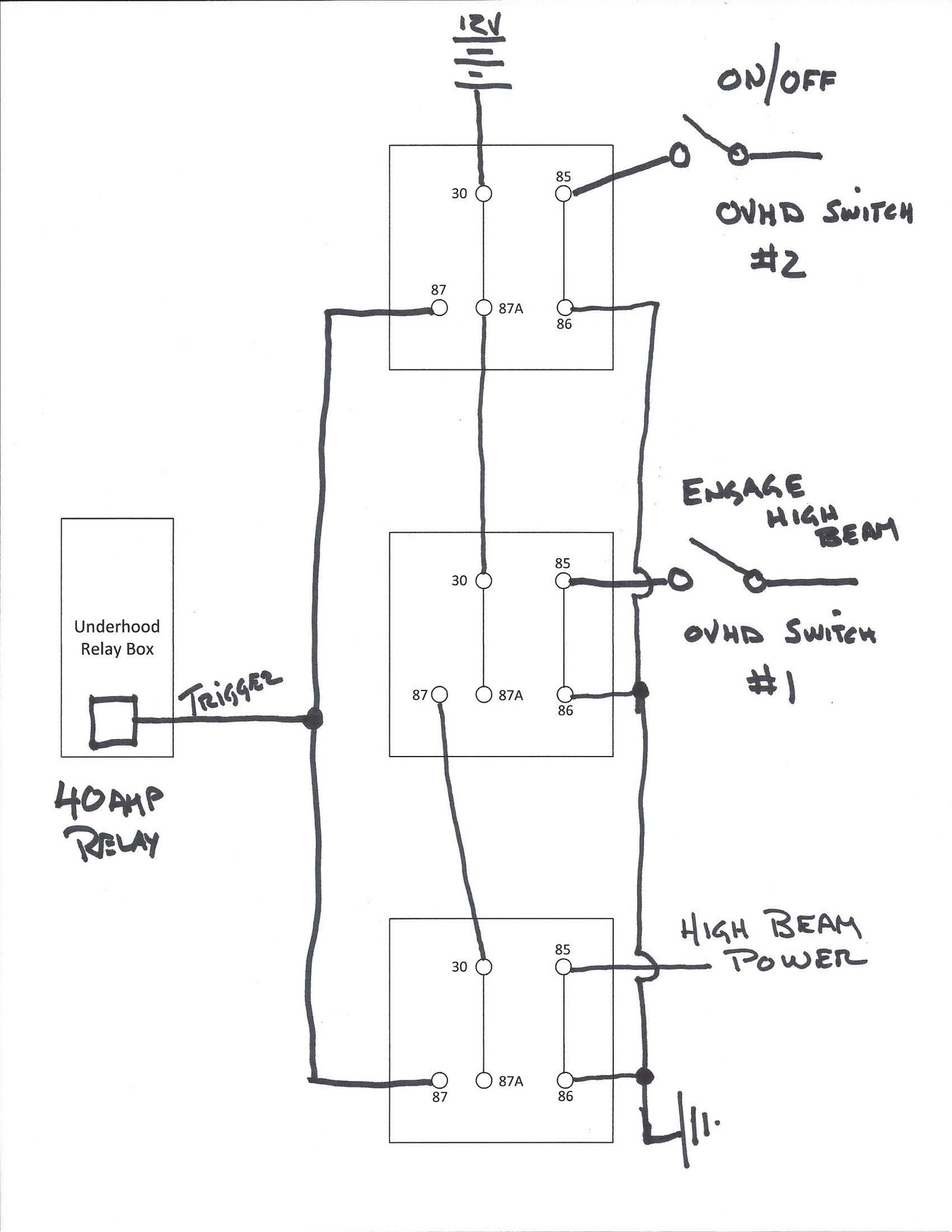 Durite Relay Wiring Diagram New Wiring Diagram